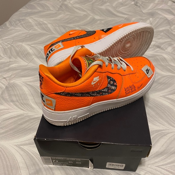 Orange Air Force one just do it's